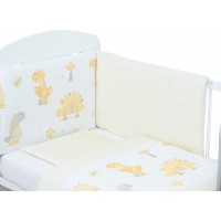 Bubaba 3 részes ágynemű szett - Dinos