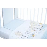 Bubaba 2 részes ágynemű szett - Blue bunny