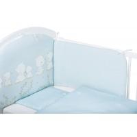 Bubaba 6 részes ágynemű szett - Kék maci