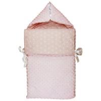 Bubaba 2in1 pólya és takaró - Rózsaszín - KIFUTÓ!